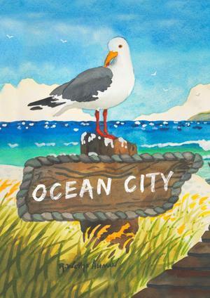 Toland Home Garden Beach Bird Ocean City 28 x 40 Inch
