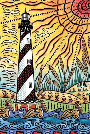Toland Home Garden Lighthouse Life 28 x 40 Inch Decorative