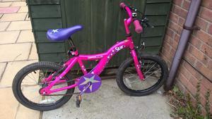 """18"""" wheel girls bike"""