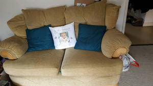 2 sofas less than a year old open tooffers
