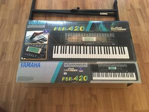 Professional Yamaha keyboard complete with stand