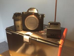 Sony A7 Full Frame Digital Camera (4 months old)