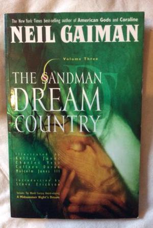 The Sandman Dream Country by Neil Gaiman