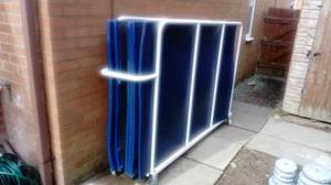 6 x 4 gymnastic mats x 8 and trolley