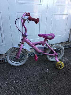 Girls pepos pig bike