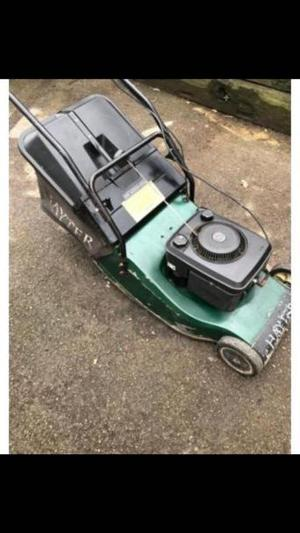 Hayter harrier 48 rear roller self drive lawn mower