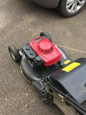 Honda HRH536 professional Mower 21 inch cut