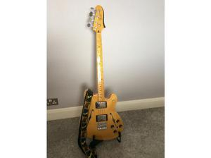 Immaculate Fender starcaster with strap, bag and Fender