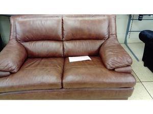 La-Z-Boy Chairman 2 seater leather sofa in Nelson