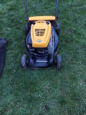 MUCULLOUGH PETROL LAWN MOWER. EXECLLENT WORKING ORDER