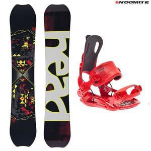 Snowboard set head the good 152 + bindings sp united fastec