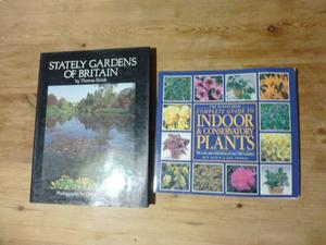 Stately Gardens of Britain & Complete Guide to Indoor Plants