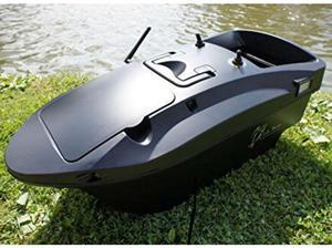 2 man trakker cayman bivvy and lake reaper bait boat in