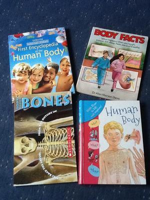 4 Human Body Books