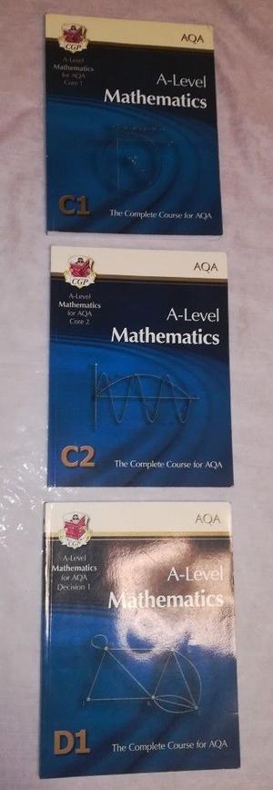 AQA A level maths books