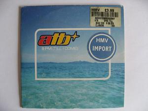 ATB ?– 9 PM (Till I Come) 2 Mixes CD Single – Club Tools