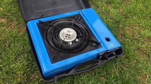 camping gaz camp cooker 2 burner 15pound camping posot class. Black Bedroom Furniture Sets. Home Design Ideas