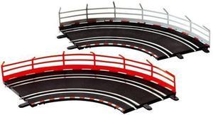 Guardrail Fence (10) - GO!!!/Digital 143 Accessory - Carrera