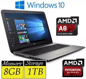 """HP 15-ba006na 15.6"""" AMD Quad Core AGB RAM 1TB HDD"""