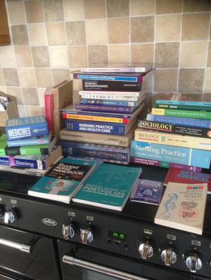 Huge bundle of nursing books