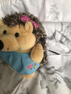 New cuddly toy hedgehog