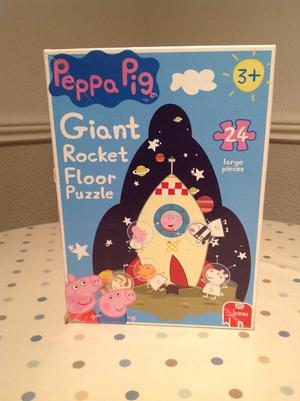 Peppa Pig Puzzle & Peppa Pig snakes and ladders floor game