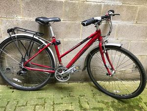 Pinnacle Hybrid City Bike - serviced, upgraded tyres, steady country trail riding and easy on tarmac