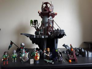 Playmobil castle and knights