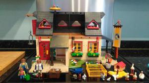 Playmobil toy farm house and accessories