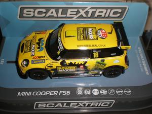 "Scalextric Mini Cooper F Silverstone"" - New Boxed"