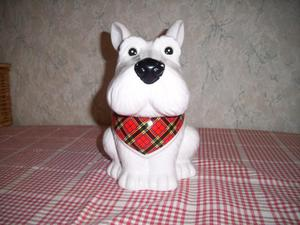 Westhighland Terrier Ceramic Cookie Jar