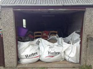 2 Jumbo bags of gravel
