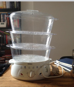 3 layer food steamer By Delta