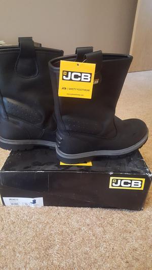 BRAND NEW JCB TRACKPRO/B SAFETY BOOTS SIZE 9