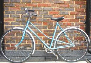 Beautiful Lightweight Ladies 3 Speed bike in the style of Peugeot, Serviced