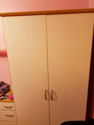 Bedroom wardrobe and set of drawers