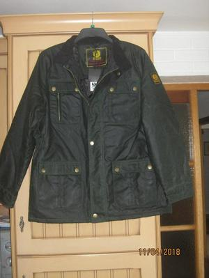 Belstaff wax jacket - Green - new size M