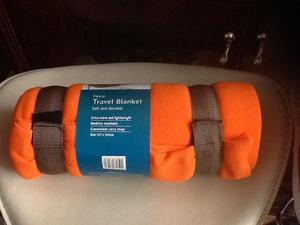 Brand New Travel Fleece Blanket