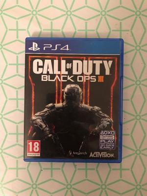 Call of Duty: Black Ops III (PS4) IN MINT CONDITION £10