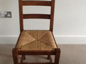 Ladder Back dining chairs in Lacquered Pine Set of 6