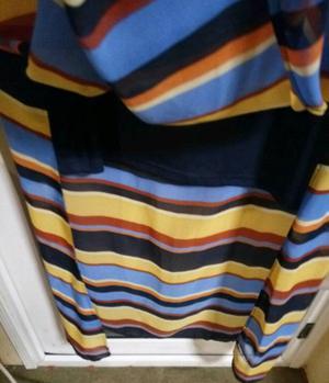 Ladies striped dress
