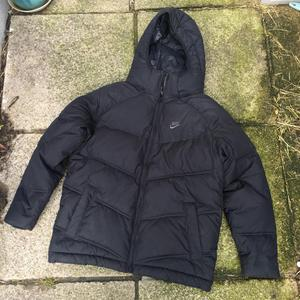 Nike black junior coat size 8-10 years