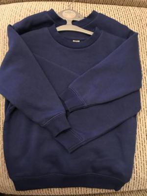 School jumpers / sweaters blue NEW