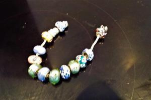 Silver woman's bracelet