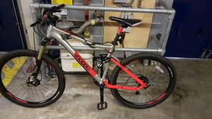 "Voodoo Canzo 18"" full suspension mountain bike"