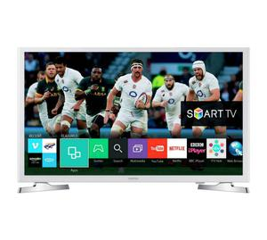 "White Samsung 32"" Smart wifi tv LED p Full HD freeview. New TV comes with warranty."