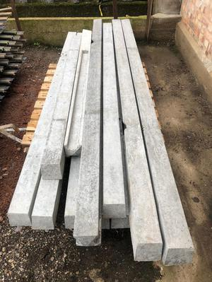 13 x concrete fence fencing heavy duty post posts *SECONDS*