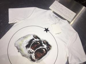 GIVENCHY MONKEY BROTHERS T SHIRT SIZE S SMALL WHITE BRAND NEW WITH TAGS