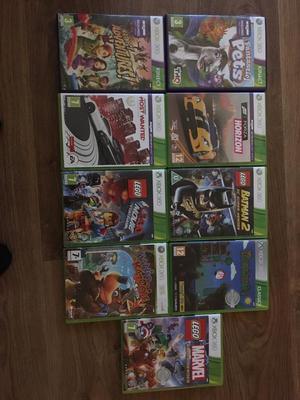 HUGE BUNDLE Xbox 360 + Kinect + 6 controllers + 15 Games including 4 skylanders
