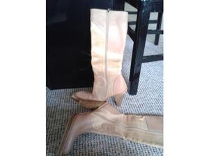 Luichiny Leather Boots Made in Spain Size 38 EUR(Size 5 UK)